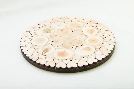 Südametega kuumaalus 15-18 cm