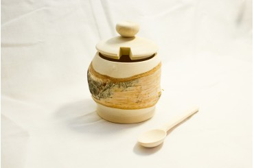 Birch sugar container