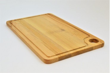Long beech cutting board