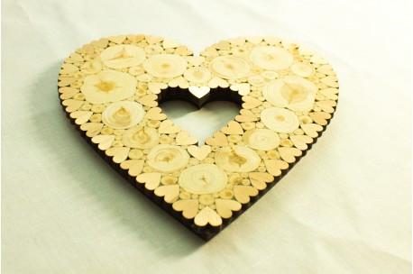Heart shaped trivet