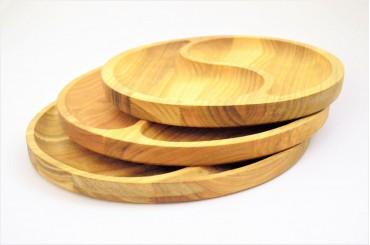 Wooden tray 27-30ø cm